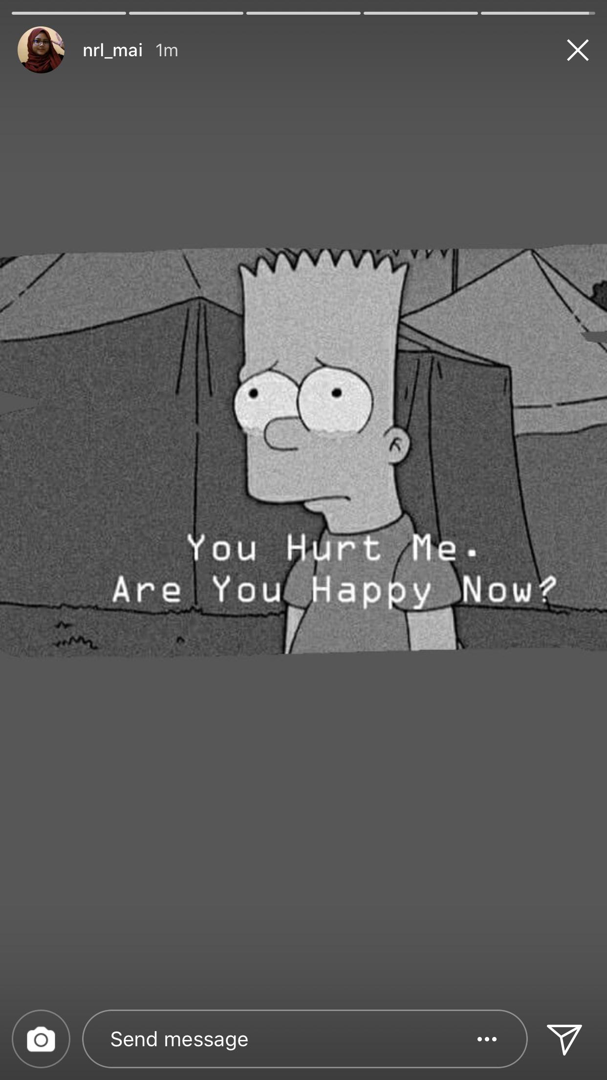 Pin By Siti Azlinah On Qoutes Bart Bart Simpson Simpson