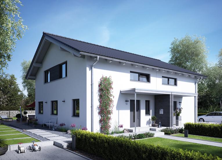 energiesparhaus doppelhaus 25 125 musterh user pinterest energiesparhaus dachneigung und. Black Bedroom Furniture Sets. Home Design Ideas