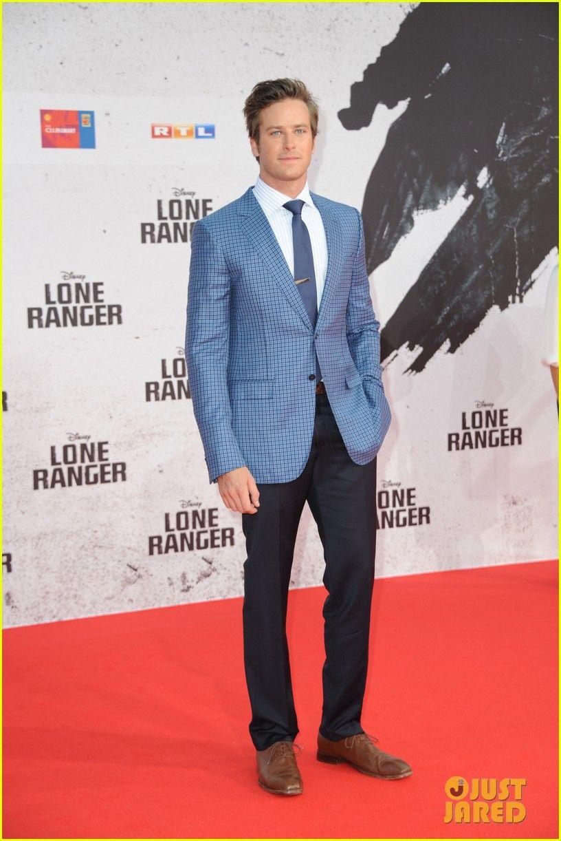 Johnny Depp & Armie Hammer: 'Lone Ranger' Berlin Premiere! | Armie Hammer, Elizabeth Chambers, Jerry Bruckheimer, Johnny Depp Photos | Just Jared