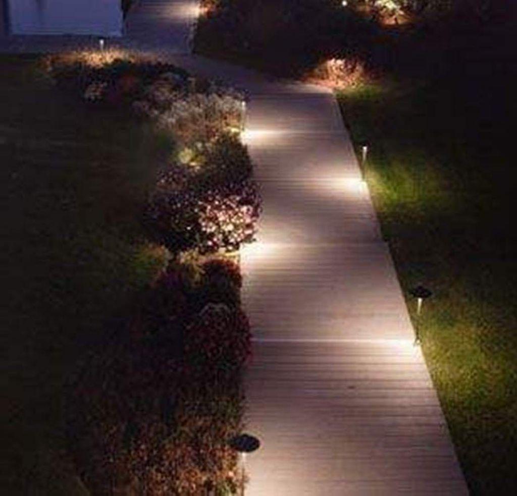 Good Outdoor Solar Path Lighting: Modern Solar Pathway Lighting : Pretty Outdoor  Pathway Lighting For Supporting