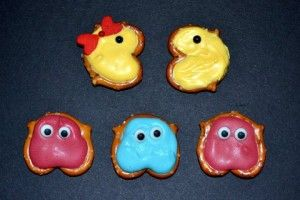 Pac Man Pretzel Cuteness Gamer Party Pinterest Chocolate