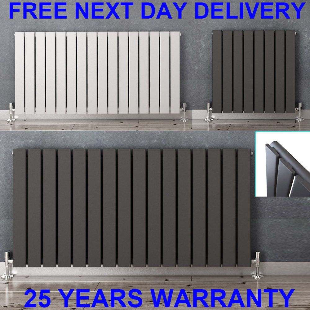 Horizontal Designer Flat Panel Radiators Modern Columns Central
