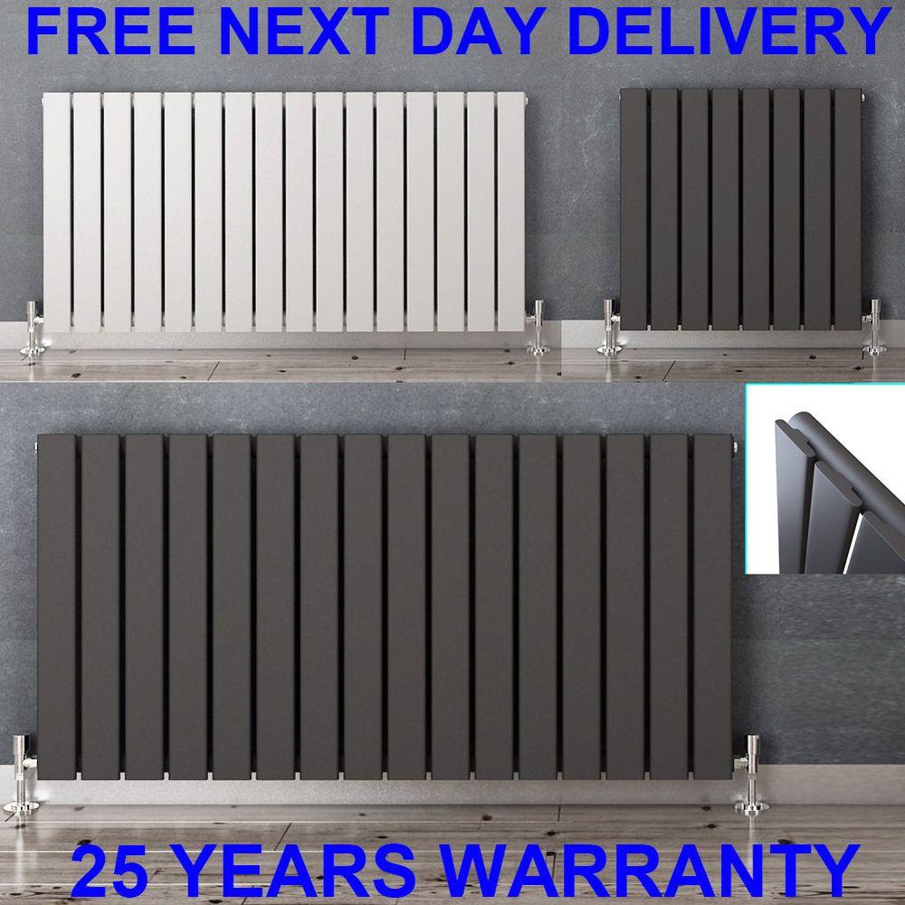 Horizontal Designer Flat Panel Radiators Modern Columns