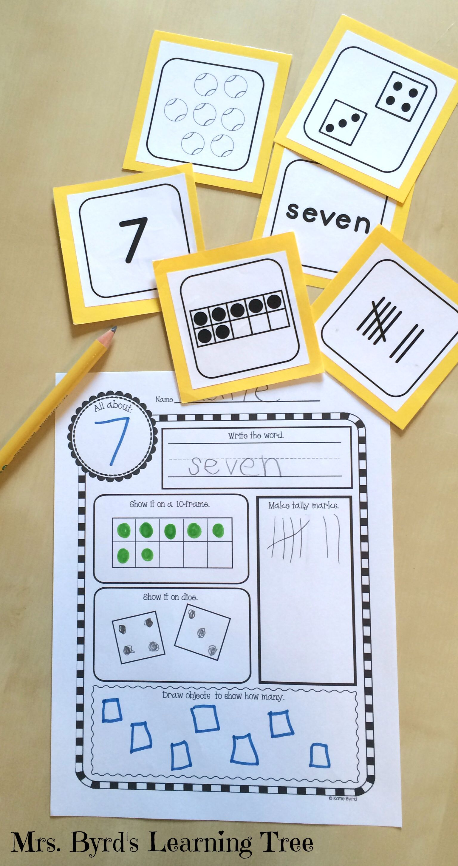 Number Cards 0 20