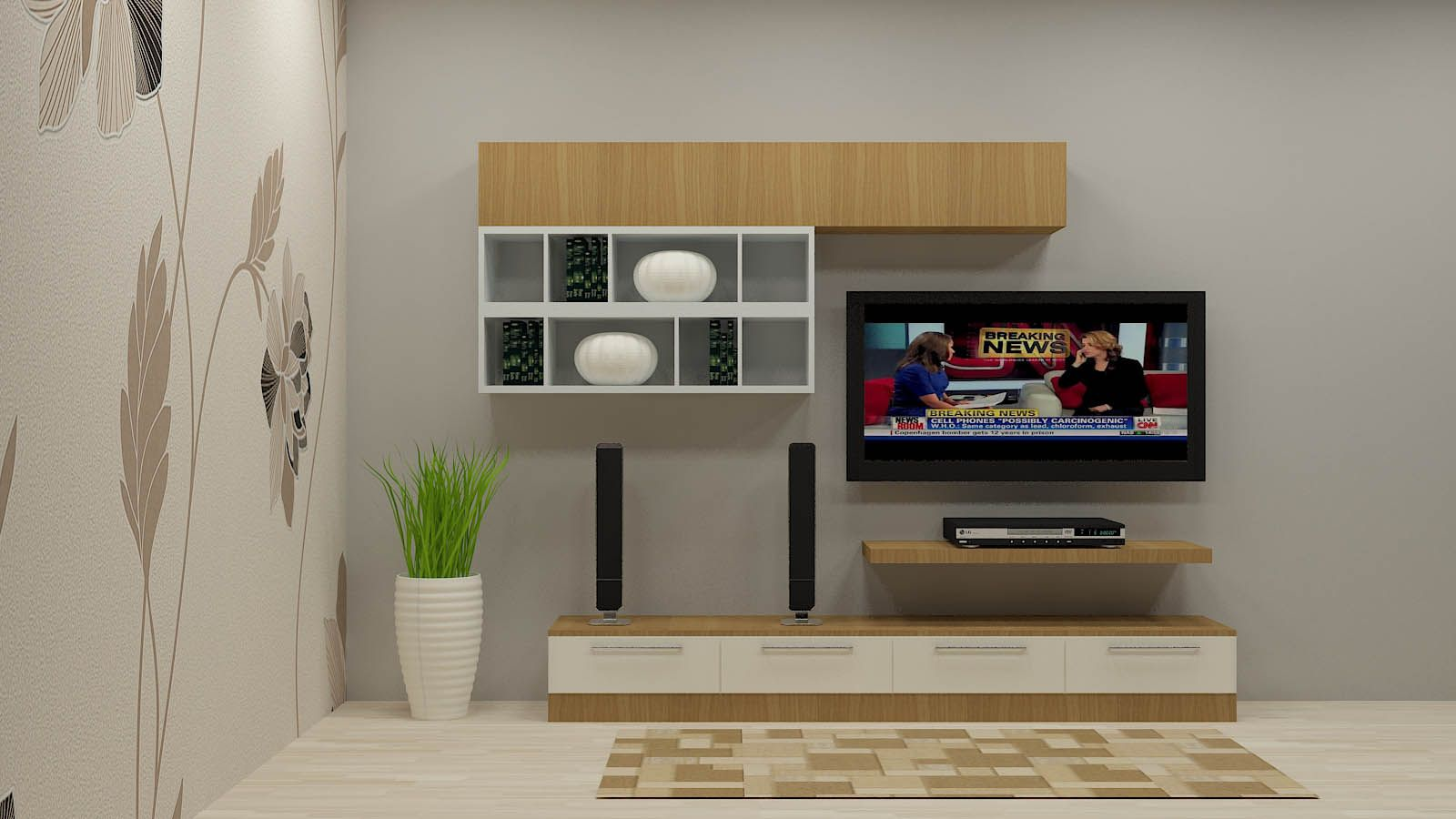 Tv Units Design In Living Room Shop Now For Bee Balm Tv Unit With Laminate Finish By Scaleinch