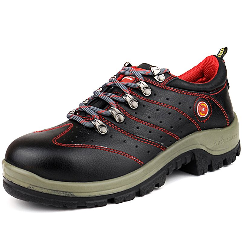 Men's Shoes Latest Collection Of Mens Casual Big Size Breathable Mesh Steel Toe Caps Working Safety Shoes Plate Platform Security Tooling Boots Protect Footwear Back To Search Resultsshoes