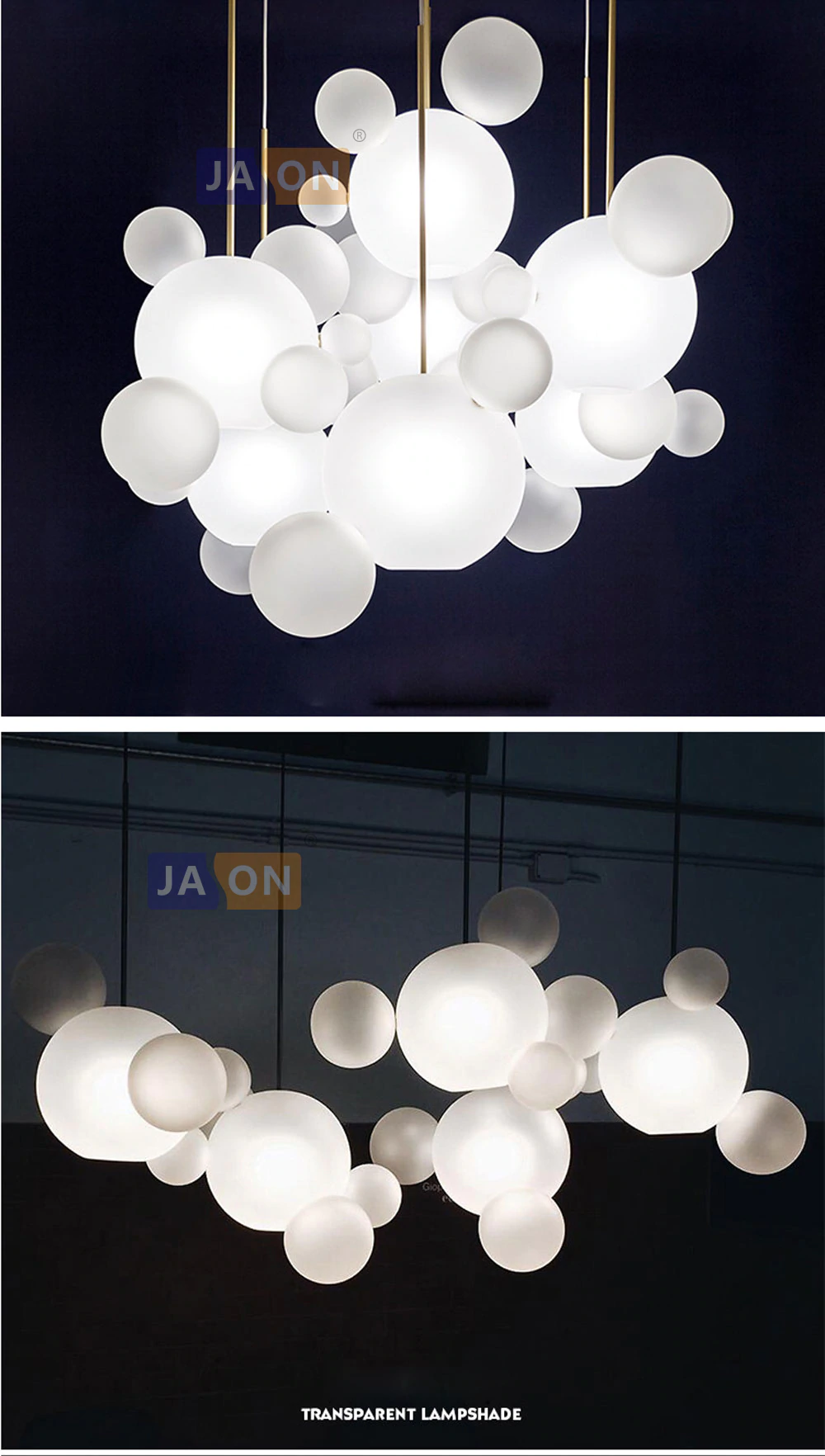 Led Nordic Eisen Glas Weiss Blase Designer Led Lampe Led Licht Anhanger Lichter Anhanger Lampe Anhanger Licht Fur Foyer I Led Lampe Anhanger Lampen Led Licht