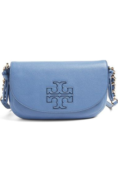 Tory Burch Mini Harper Leather Crossbody Bag available at #Nordstrom