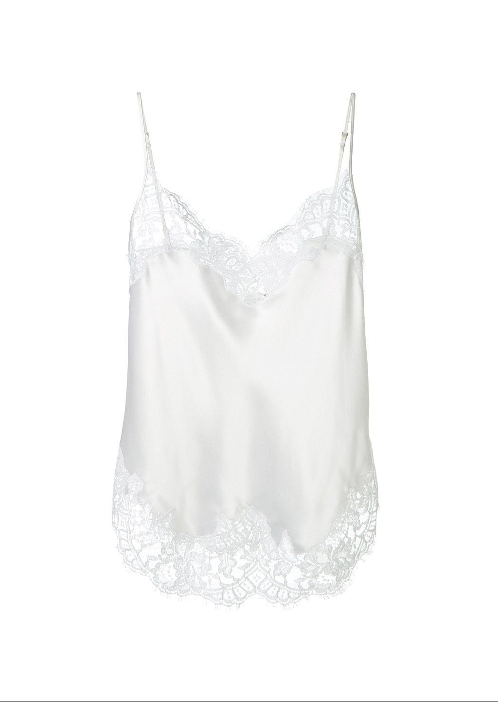 31c7e44166ad8 GIVENCHY Givenchy White Silk Cami.  givenchy  cloth