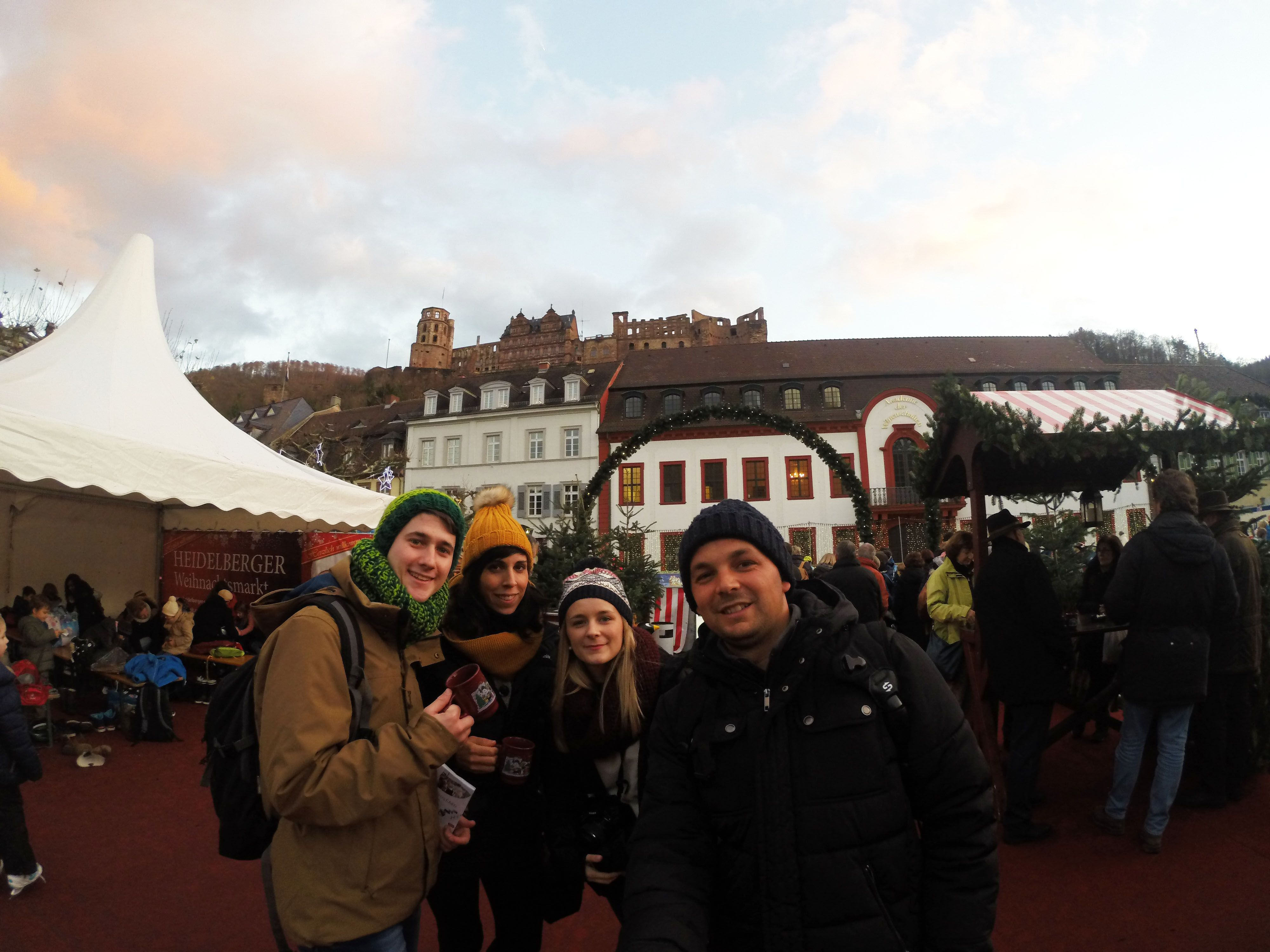 Mercado navideño Heidelberg