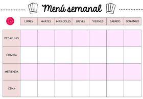planificador semanal de comidas gratuito