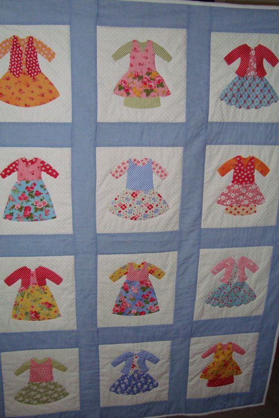 Quilt Handmade doll dress quilt | Sugar & Spice & Everything Nice ... : doll dress quilt - Adamdwight.com