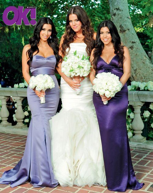 Kourtney Khloe Kim Kardashian Wedding Pic 9 09 Kardashian