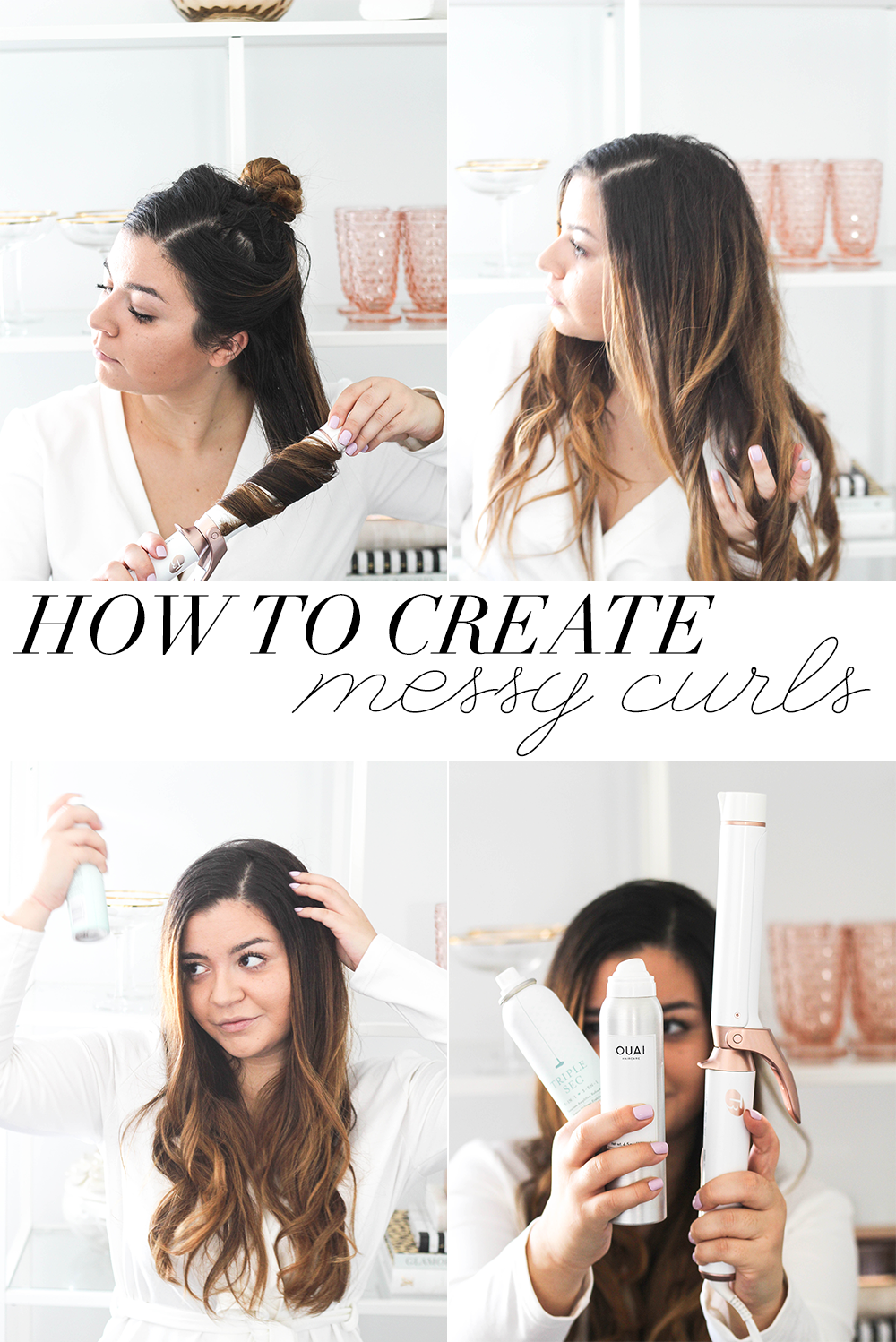 How To Create Messy Curls - Money Can Buy Lipstick