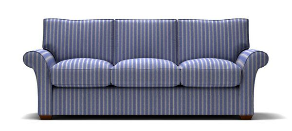 Striped Fabric Sofas Sofa With Blue Stl Ilrator