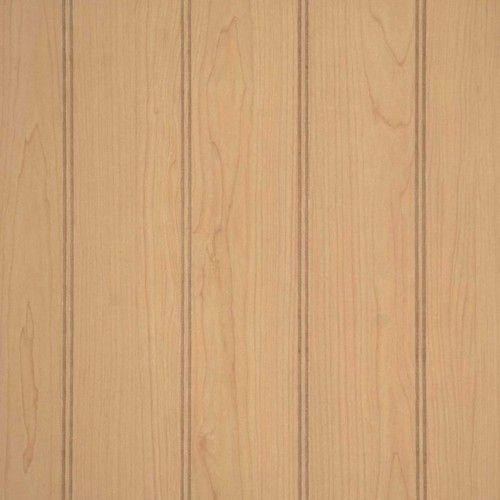 "Ultra Maple 4"" Pattern Beadboard Paneling 4x8 3.6"