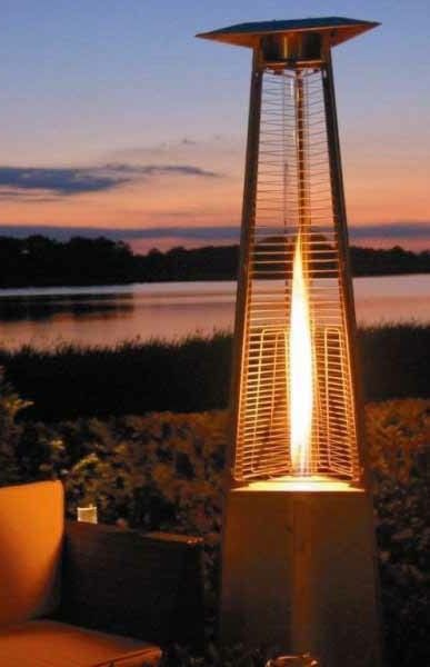 Bon Flame Quartz Tube Outdoor Heater