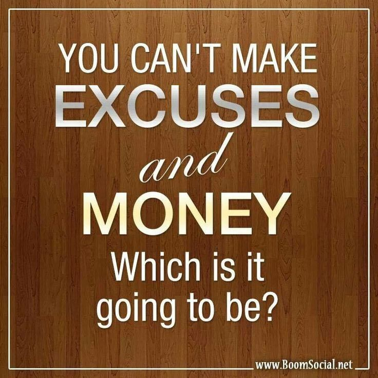 """Plain and Simple. If you want to reach your monetary goals, dodge the excuses for why you can't (which really mean you """"won't""""), and head straight to the finish line!"""