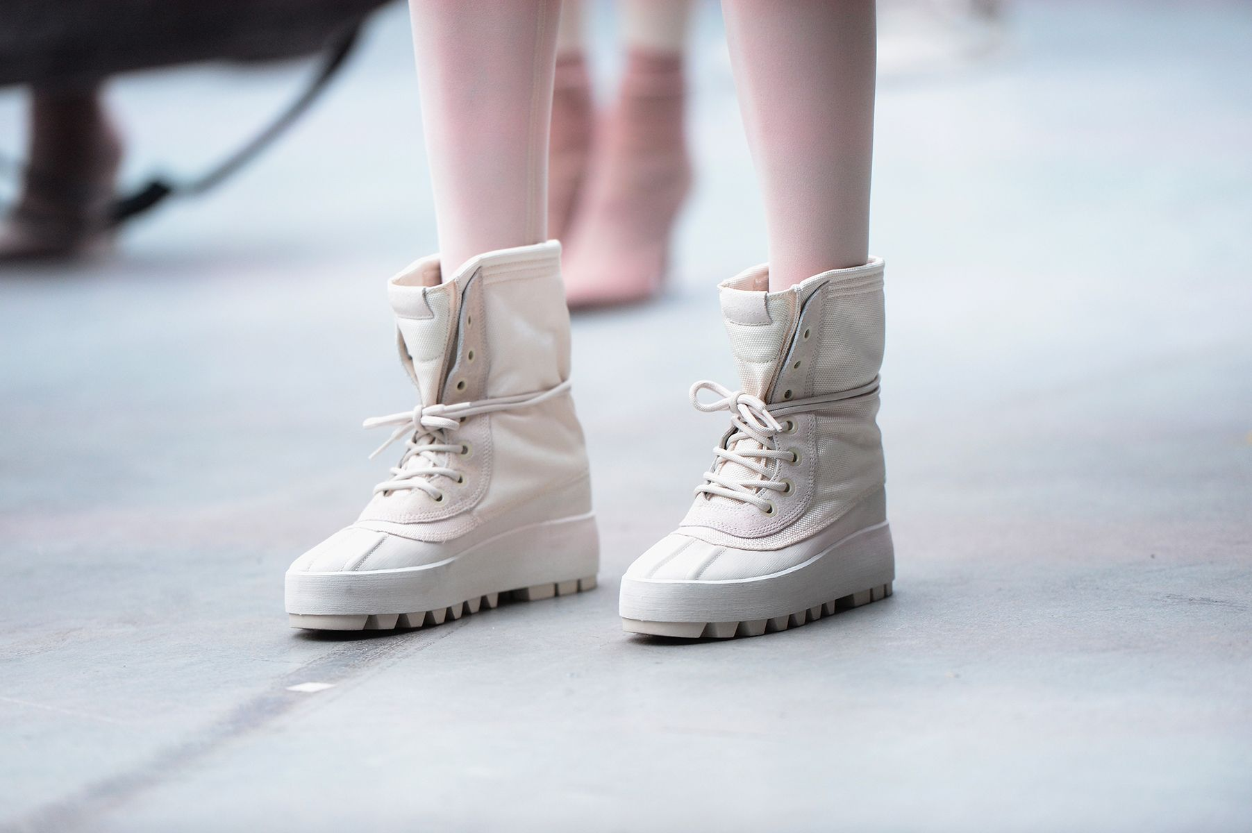 Kanye West S High Tops For Adidas Are Next Year S Must Have Winter Boots Adidas Boots Sneakers Kanye West Adidas Yeezy