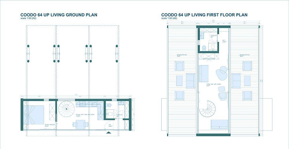 Coodo Up Coodo Mobile Living Mobile Living Prefab Homes House Plans