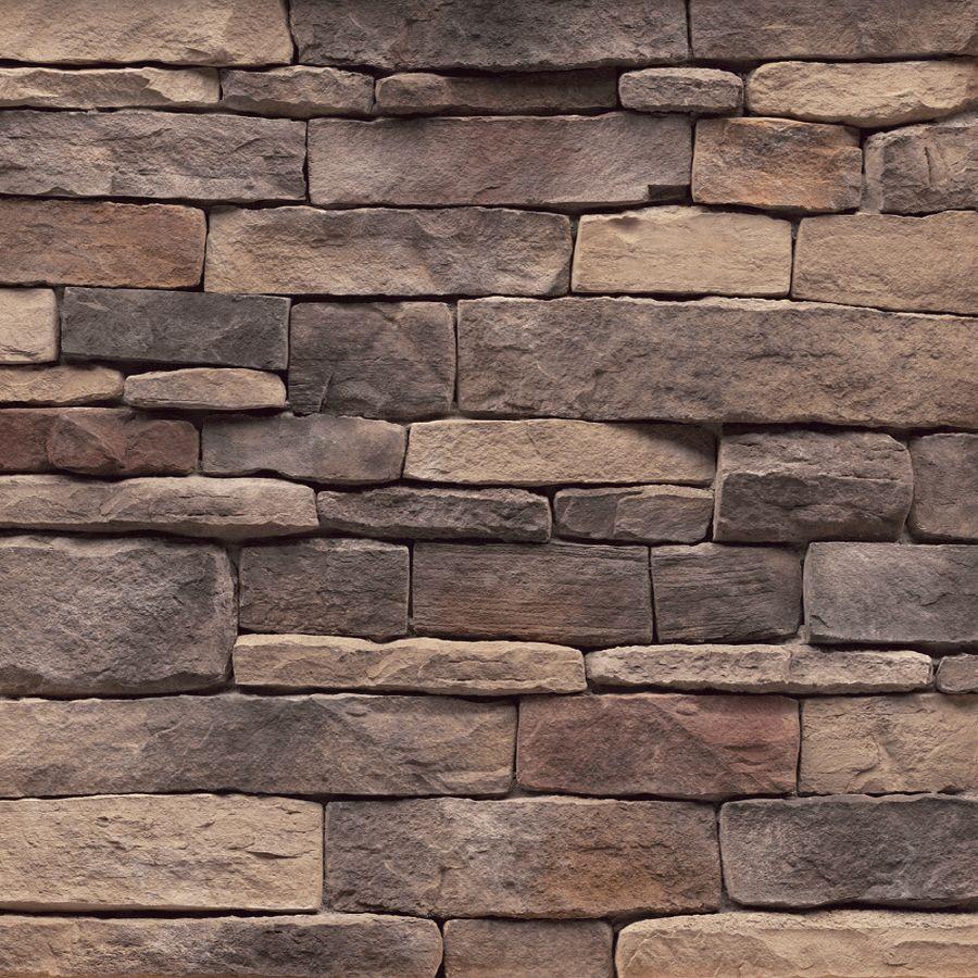 Shop Stonecraft 9 Sq Ft Tennessee Ledgestone Flats At Lowes Com Ledgestone Basement Remodel Diy Wood Feature Wall