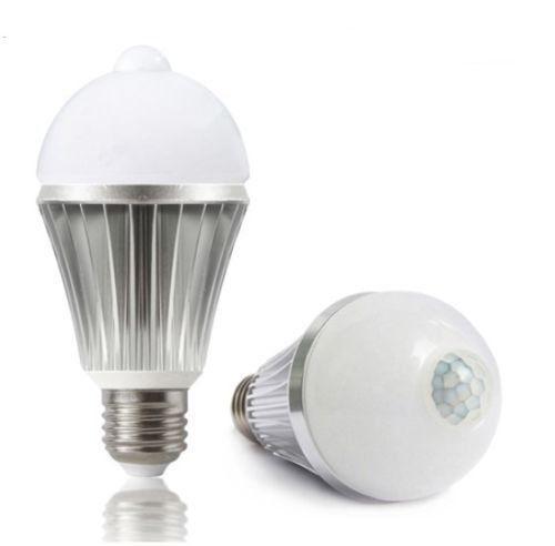 60 Watt Led Daylight Bulb With Motion Sensor E26e27 Socket