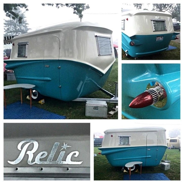 Relic Trailers Offer Modern Convenience And Retro Styling