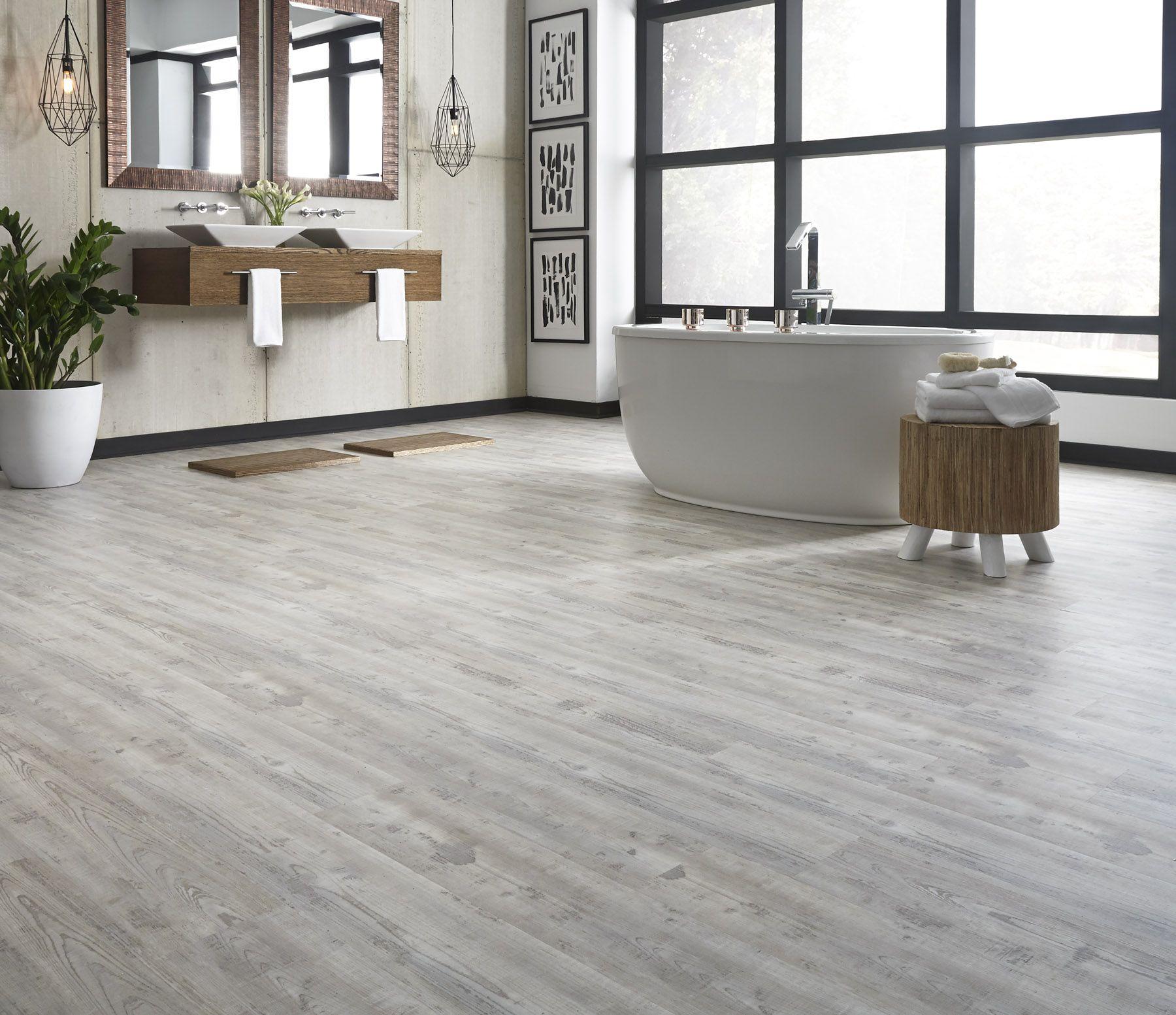 grey vinyl plank flooring