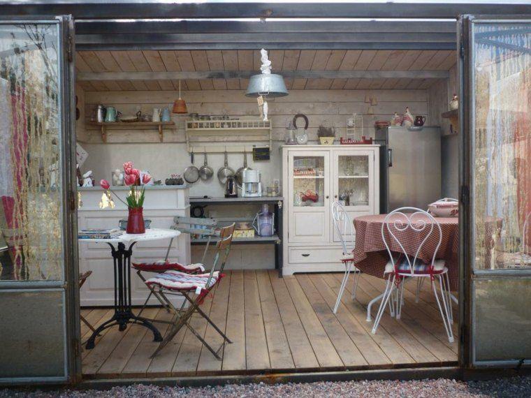 La cuisine d\u0027été \u2013 le choix idéal pour un repas à ciel ouvert - Cuisine D Ete Exterieure En Pierre