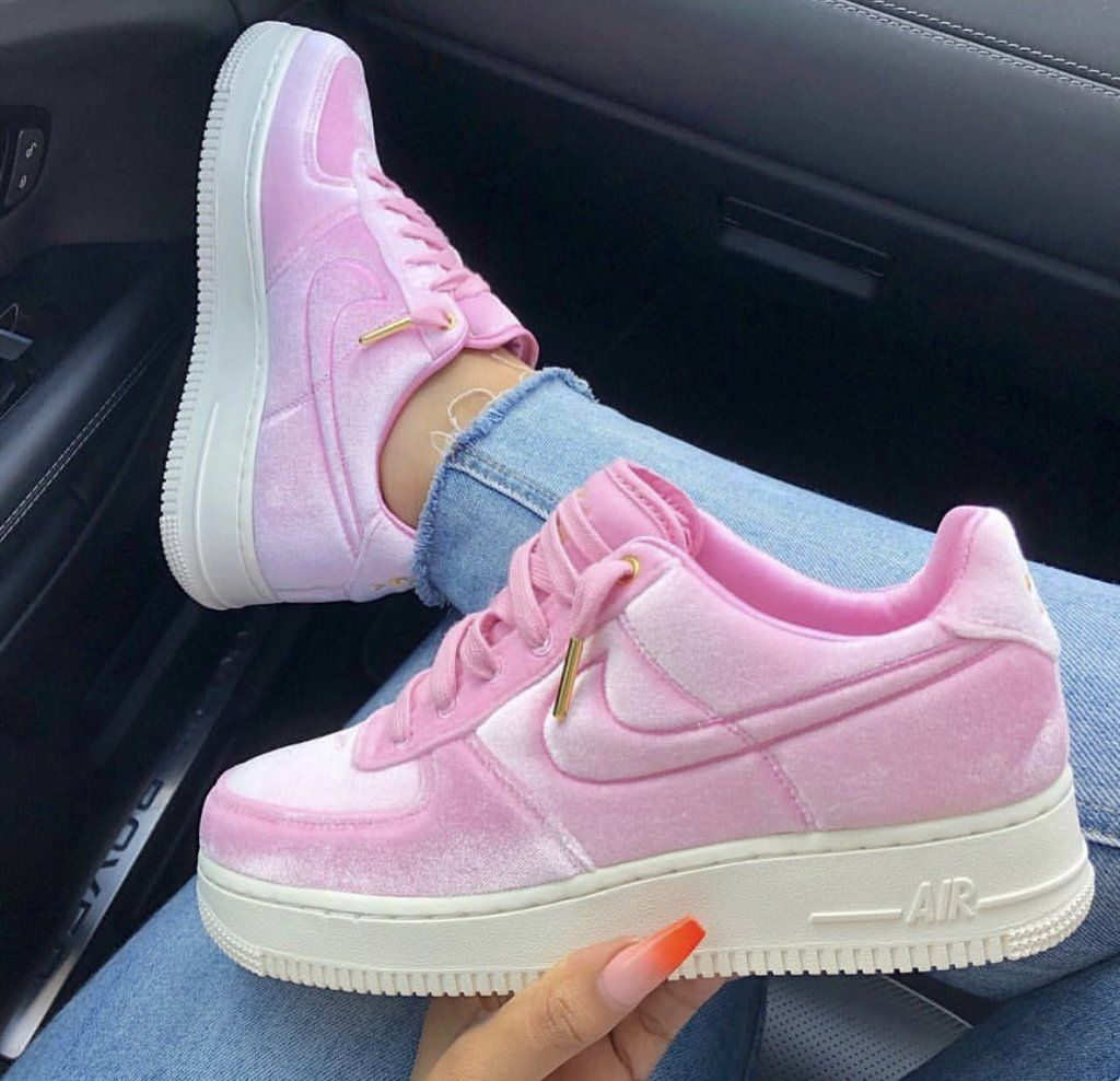 Nike air force 1 black pink purple | Beautiful sneakers ...