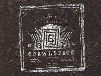 Crawlspace Art Show Logo.