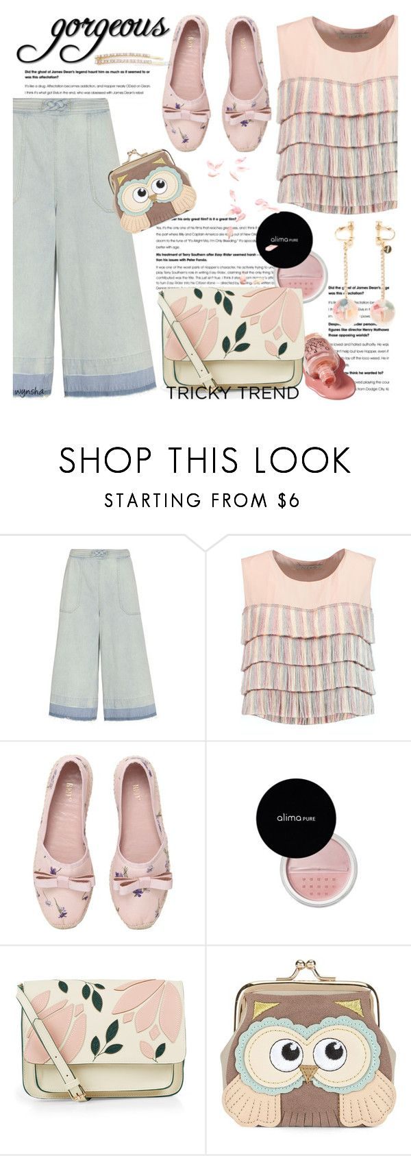 """""""Tricky TREND #1"""" by wynsha ❤ liked on Polyvore featuring Sea, New York, Alexis, RED Valentino, Lauren Conrad, Accessorize, New Look and Tasha"""