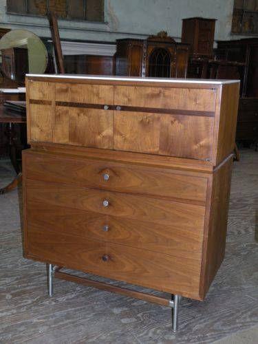 Mid Century Modern Vintage Kroehler Bedroom Set Provenance ...