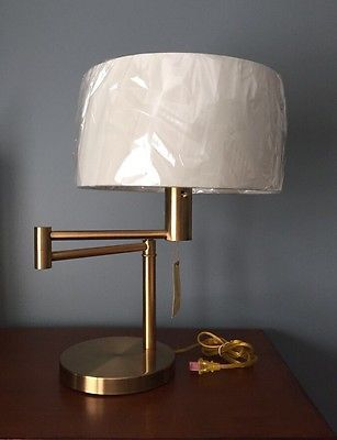 Silver Swing Arm Ralph Lauren Table Lamp Style Me