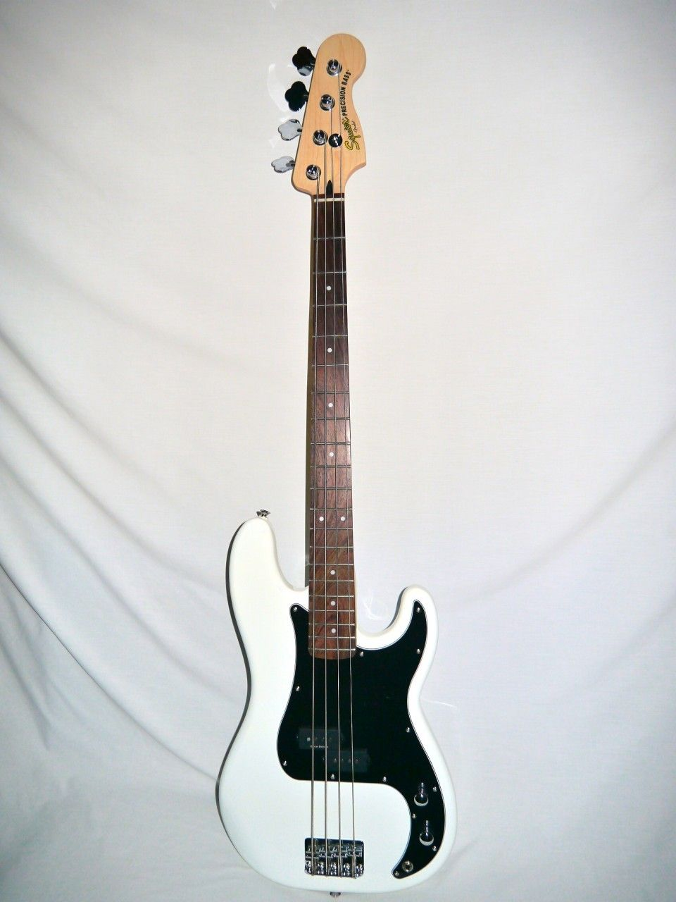My eb bass squier vintage modified jazz bass - Indian Creek Guitars Squier Vintage Modified Precision Bass Olympic White Http