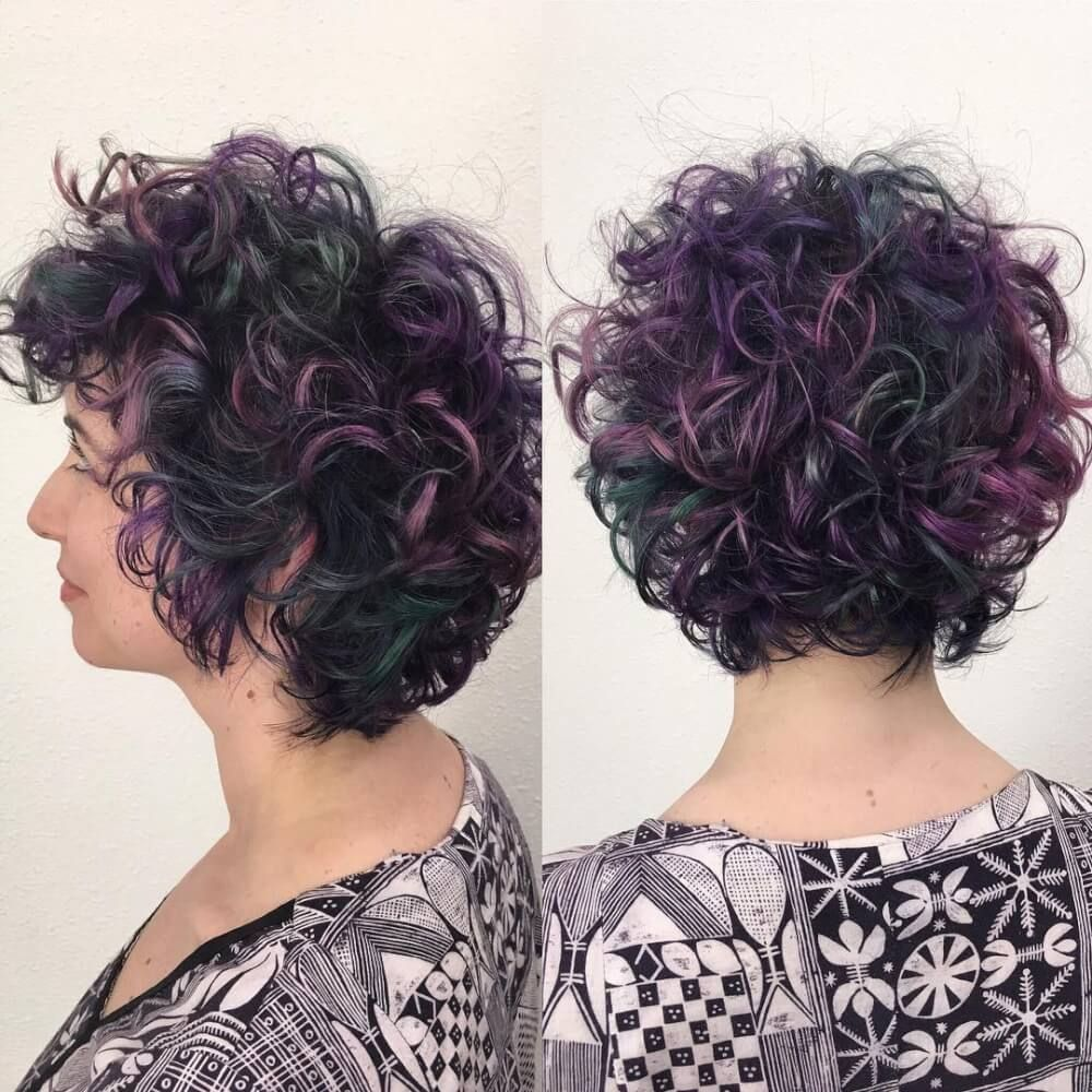 31 Cute & Easy Hairstyles for Short Curly Hair | Curly hair styles  naturally, Short curly hair, Curly hair styles