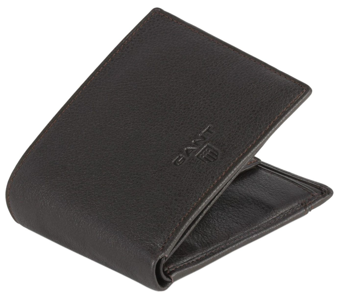 27a918c5b8 Gant Wallet - Brown Leather 2 Folded Wallet #Gant #Mens #Wallet ...