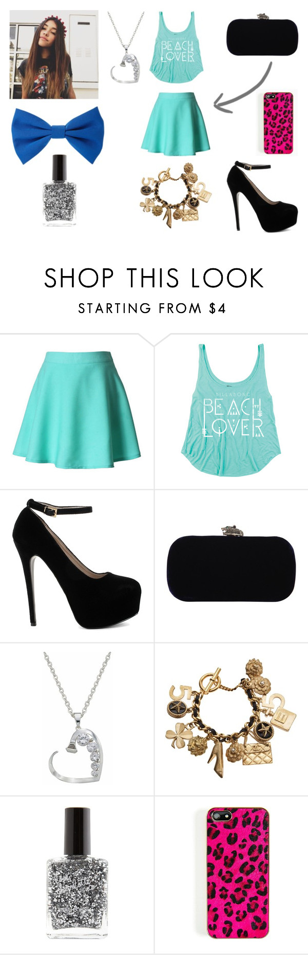 """MADISON BEER"" by carolina-otarola-xx ❤ liked on Polyvore featuring OPTIONS, House of Harlow 1960, Chanel, Charlotte Russe and Forever 21"