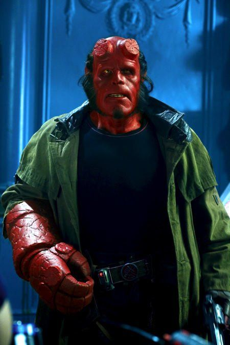 hellboy from hellboy 2004 ron pearlman is an excellent
