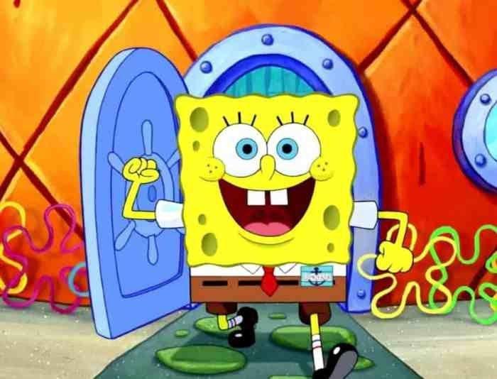 Pin Di Spongebob
