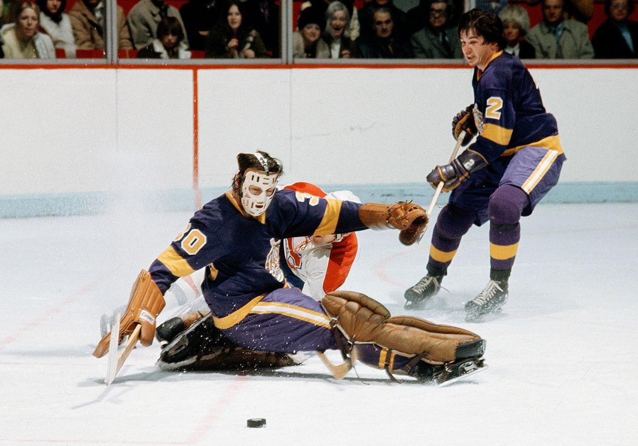 Roggie Vachon, Los Angeles Kings Goalie, Hockey hall of fame