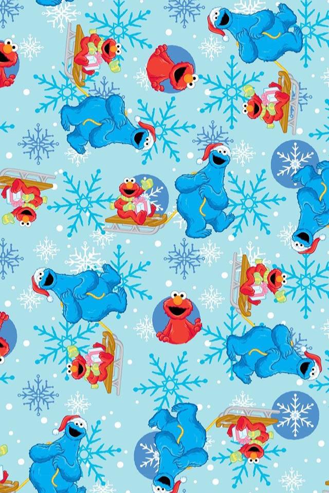 Sesame Street Wallpaper Plaza Sesamo Elmo Cookie Monster Elmo Wallpaper Sesame Street Christmas Cookie Monster Wallpaper