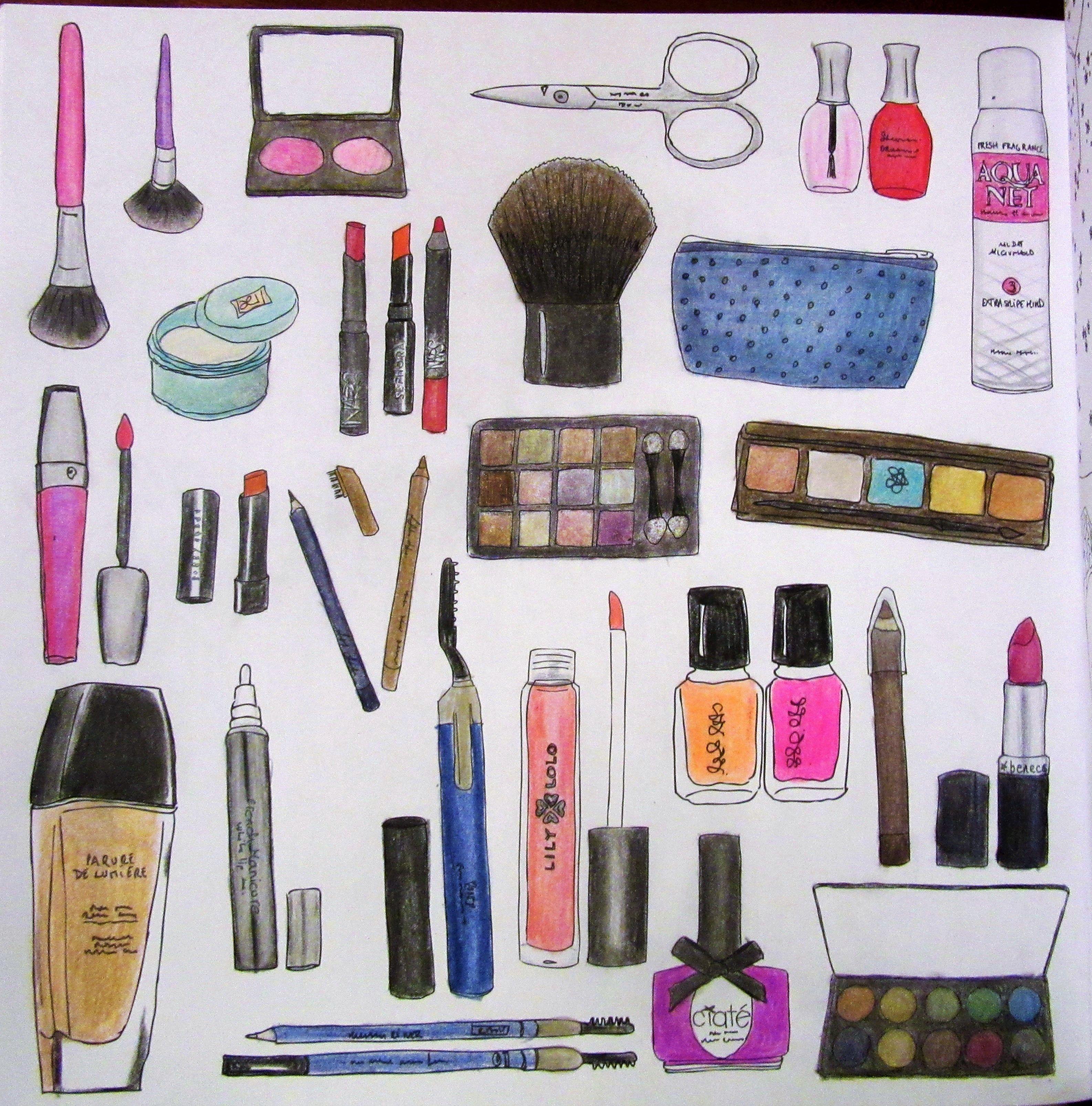 Zoe de las cases secret new york colouring book cosmetics by michelle secretparis segredode - Zoe de las cases ...