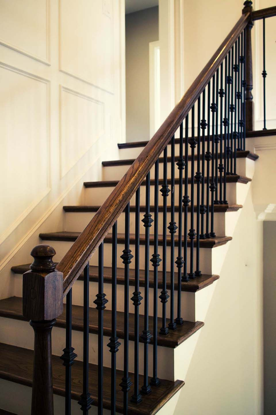 Best Straight Stairs Staircase Design Wrought Iron Stairs 400 x 300