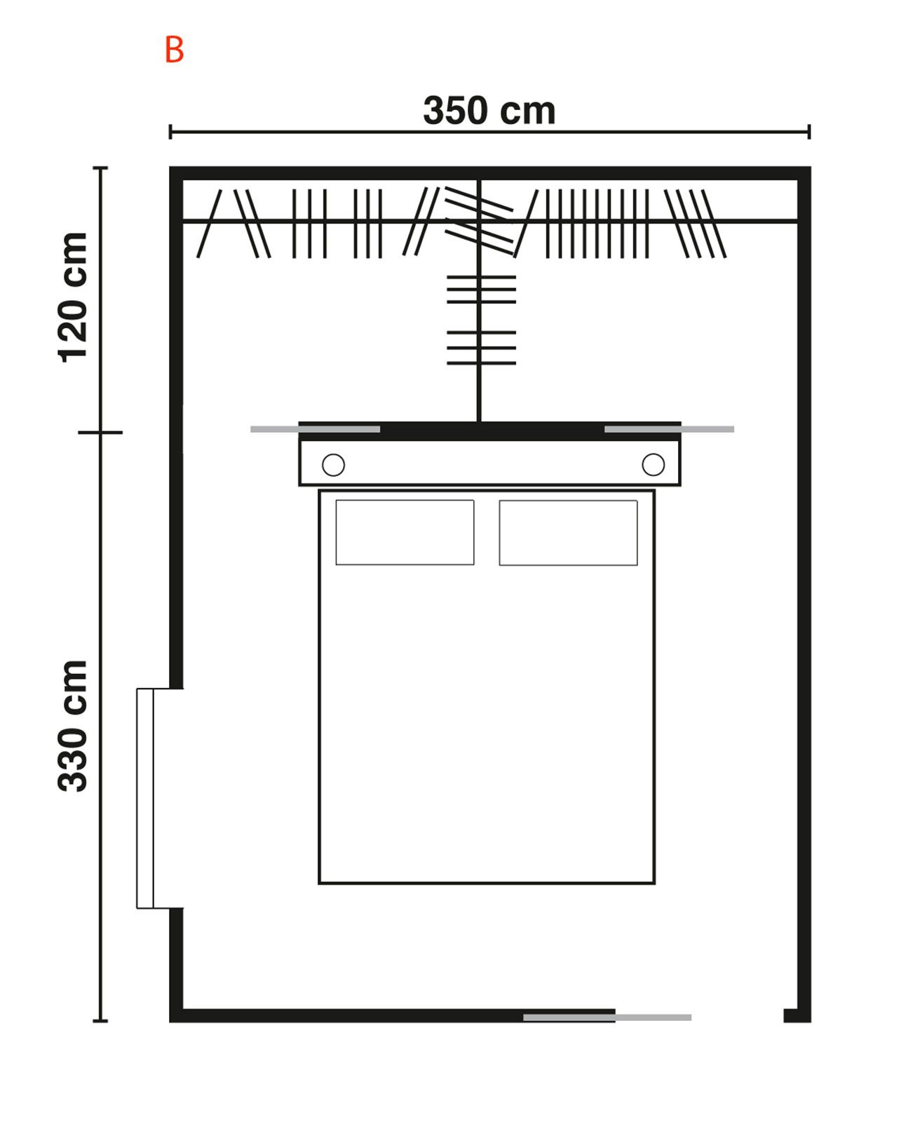 Cabine armadio progettiamo insieme lo spazio cose di - Cabina armadio angolare misure ...