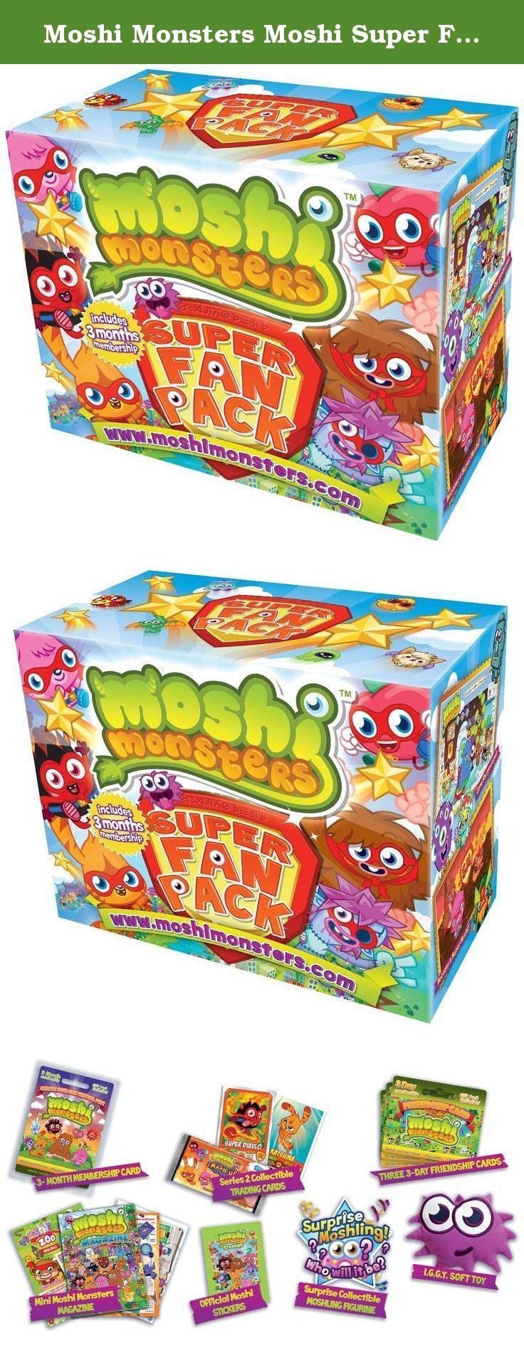 Moshi Monsters Moshi Super Fan Pack. The Moshi Monsters