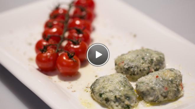 Polpettine alla ricotta con spinaci – balletjes van ricotta en spinazie - recept | 24Kitchen