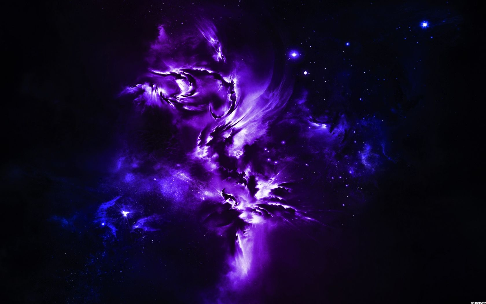 Awesome Purple Dragons Space Abstract Purple Wallchan