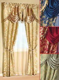 Great All In One Curtain Set 56 X 84 $20