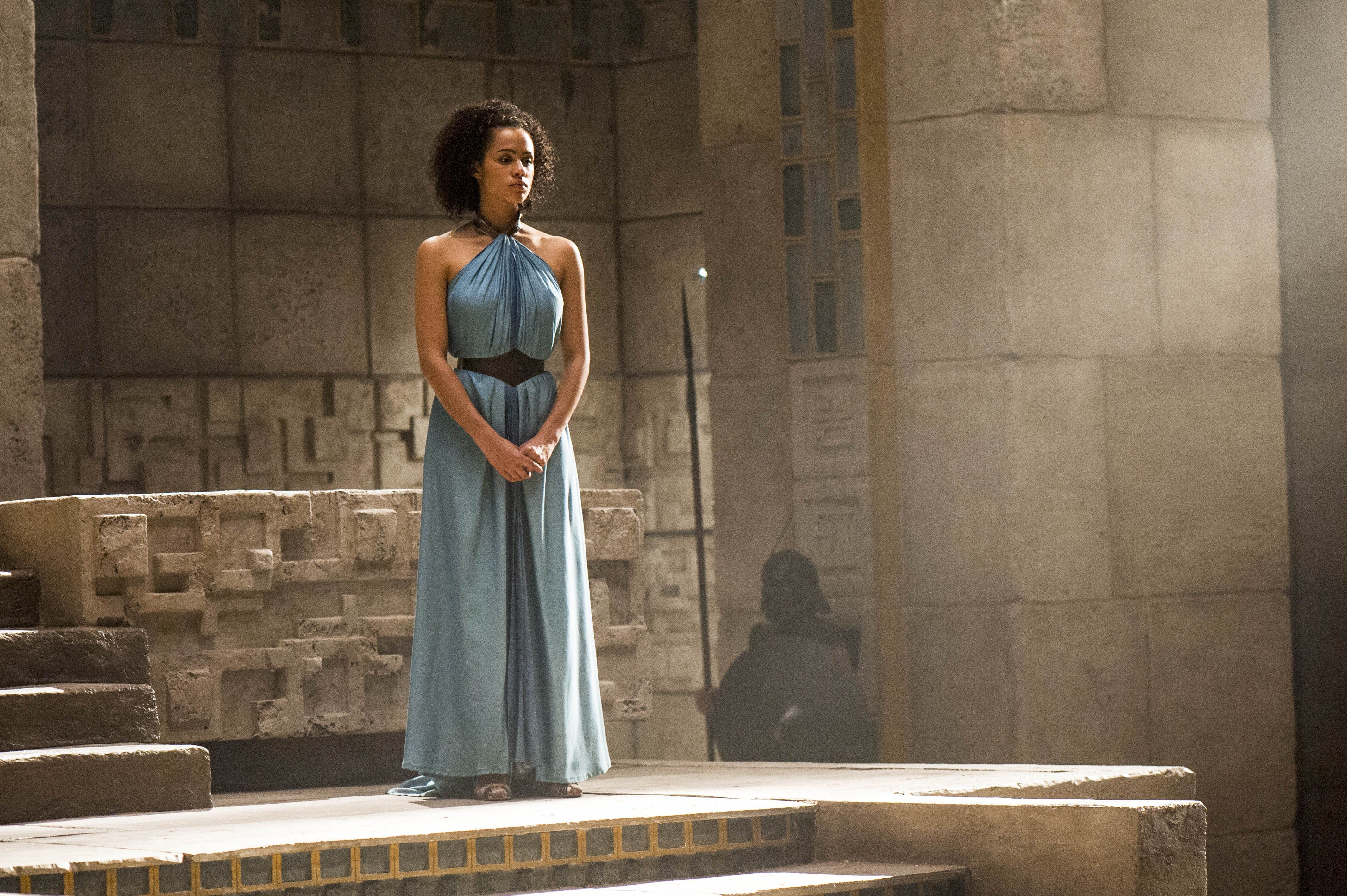 missandei (nathalie emmanuel) Missandei Game of Thrones #Missandei #WhiteWalkersGOT #WhiteWalkersNET